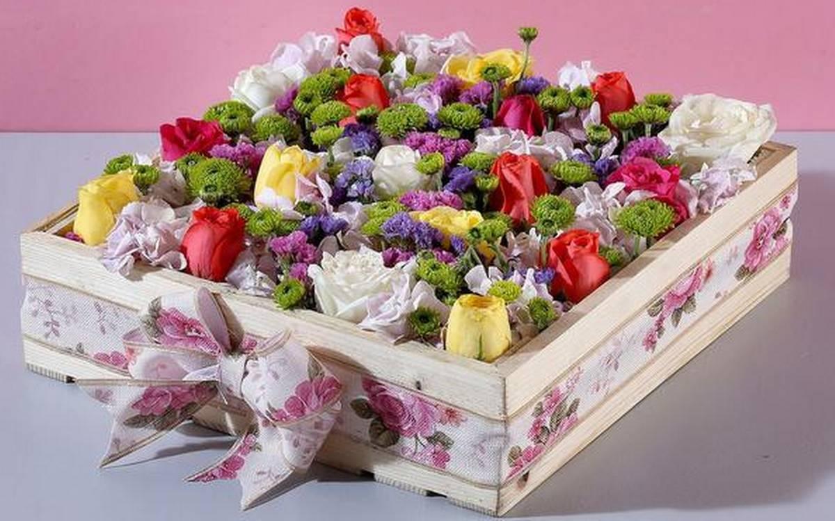 Ferns and petal coupon